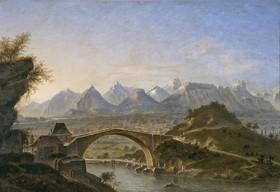 Le Pont de Claix par Jules Guedy